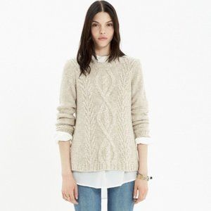 Madewell Firelight Marled Pullover Sweater XS